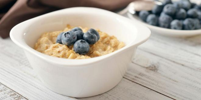 Blueberry Earl Grey Overnight Refrigerator Oats